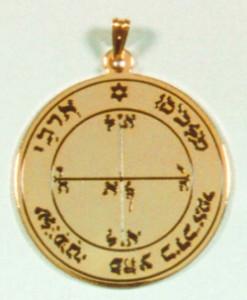 Talismans : jupiter, lune, mars, mercure, saturne, soleil, vénus